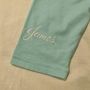 Lauren James Tops - Sale NWT Lauren James baseball jersey ocean palm